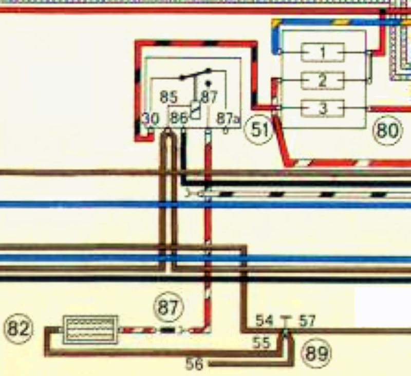 Question On Rear Window Heating Elemnt Wiring