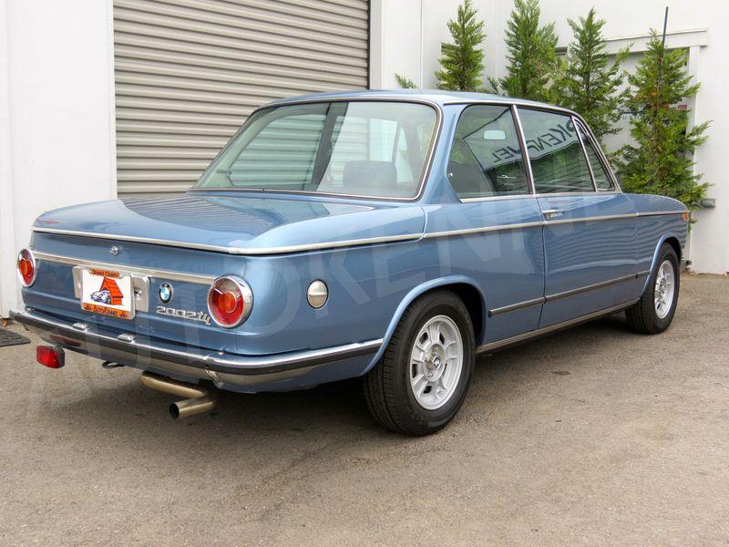 FS: 1972 BMW 2002tii. 2-Owner SoCal Car Rare Baikal Blue. Restored ...