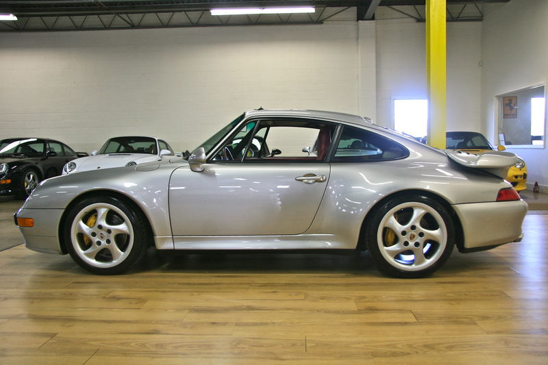 1997 Porsche 993 Twin Turbo Rare Arctic Silver With Paint