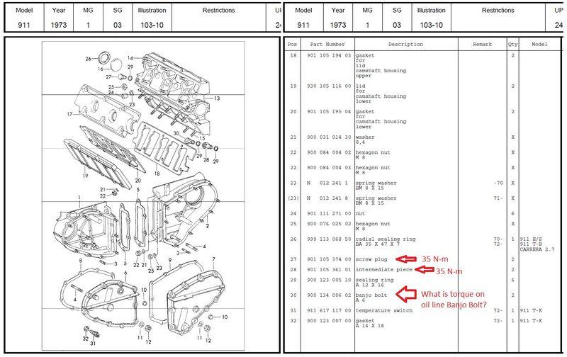 Oil Line Banjo Bolt Pelican Parts Technical Bbs