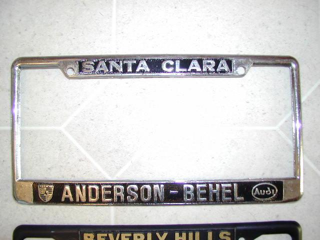 Fs License Plate Frames Pelican Parts Forums