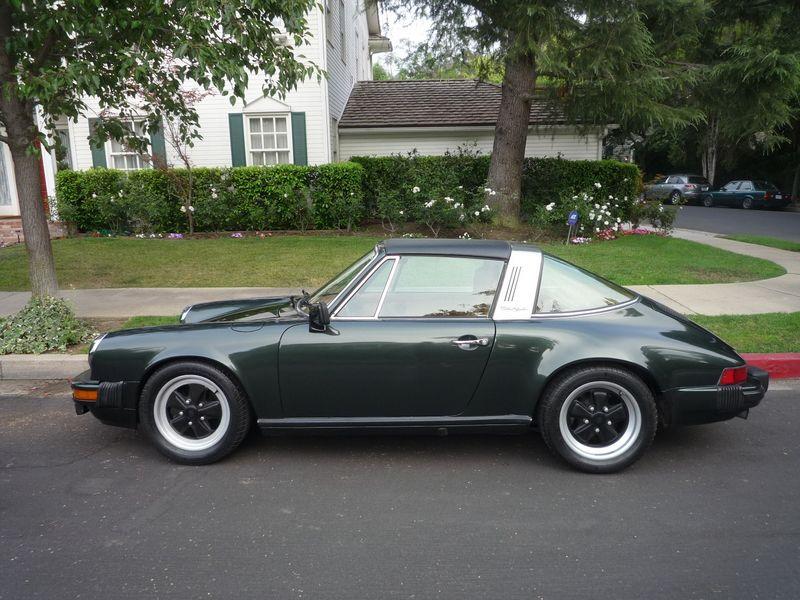 1978 911 Targa Oak Green Cork Superb 1 Owner 47 000 Miles