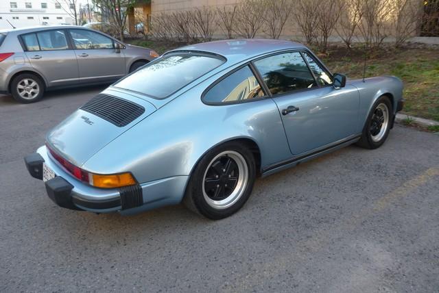 FOR SALE 1979 Porsche 911SC Sunroof Coupe Light Blue