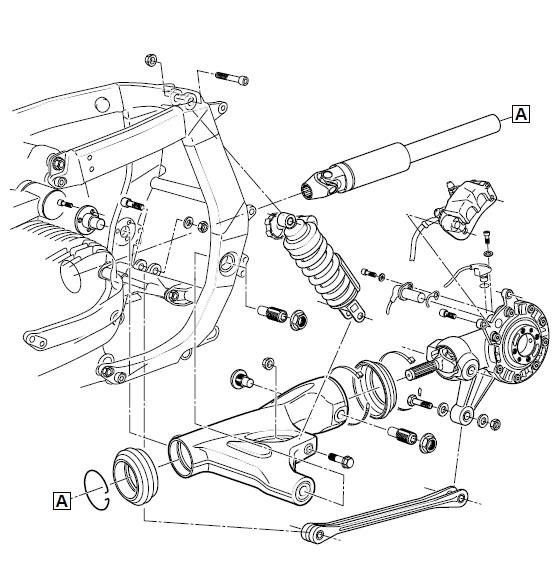 Ot Bmw K1 Rear Tire Rubbing Against Swing Arm