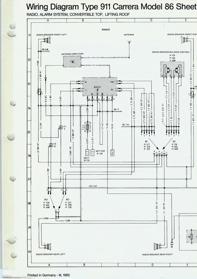 2002 porsche 911 radio wiring radio free printable wiring diagrams