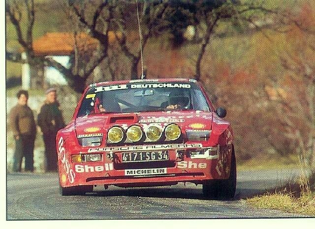Image result for porsche 924 gts 1982 monte carlo