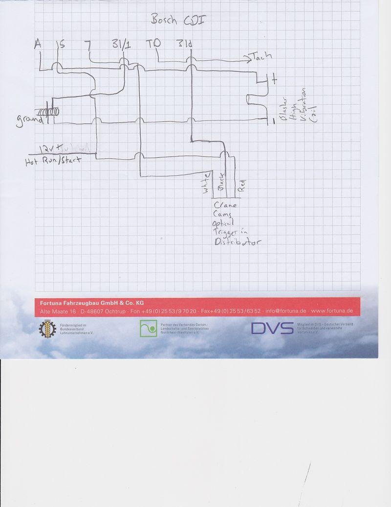 Crane Cam Optical/Bosch CDI/Coil Wiring - Pelican Parts Forums