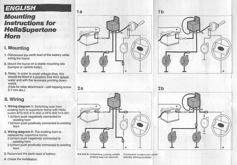 question new horn wiring diagram pelican parts technical bbs