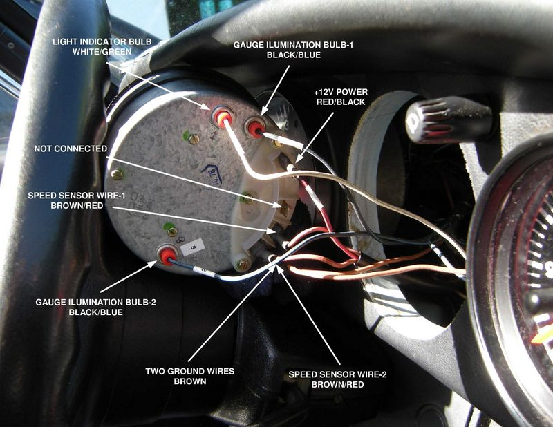 need guidance on troubleshooting speedometer problem