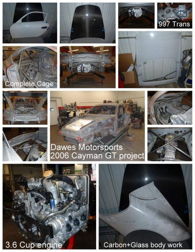 Cayman race car project for sale - Pelican Parts Technical BBS