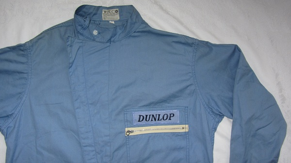 Original Late 1950 S To Early 60 S Dunlop Drivers Suit