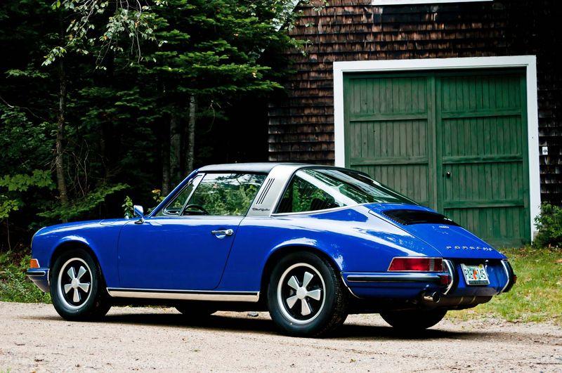 1972 Porsche 911t Targa Dalmation Blue Pelican Parts Forums