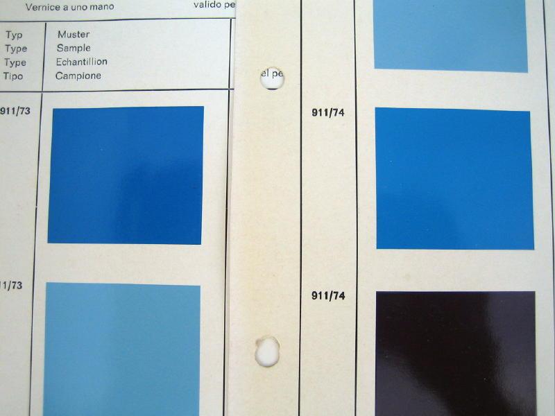 Pastel Blue Versus Mexico Blue Pics Pelican Parts Forums