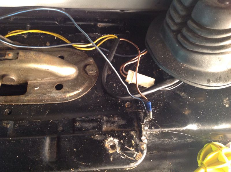 79SC mystery wires in cabin what is this for? - Pelican Parts ...