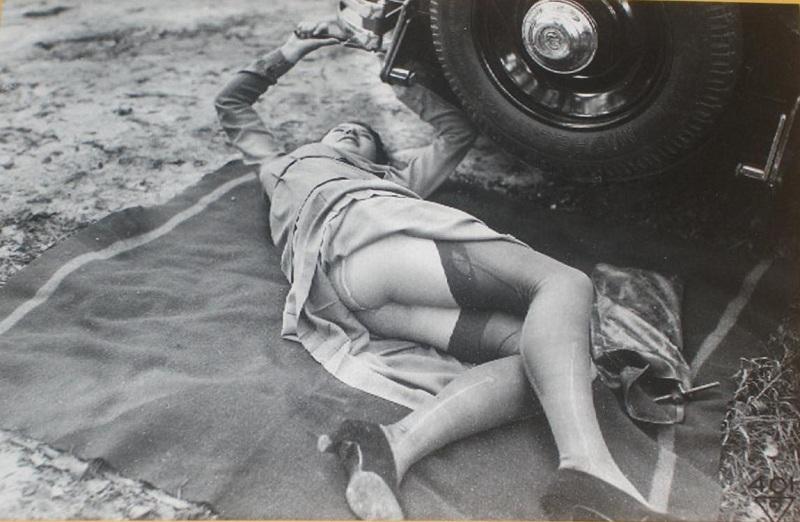 возбуждающие ретро фото женщин