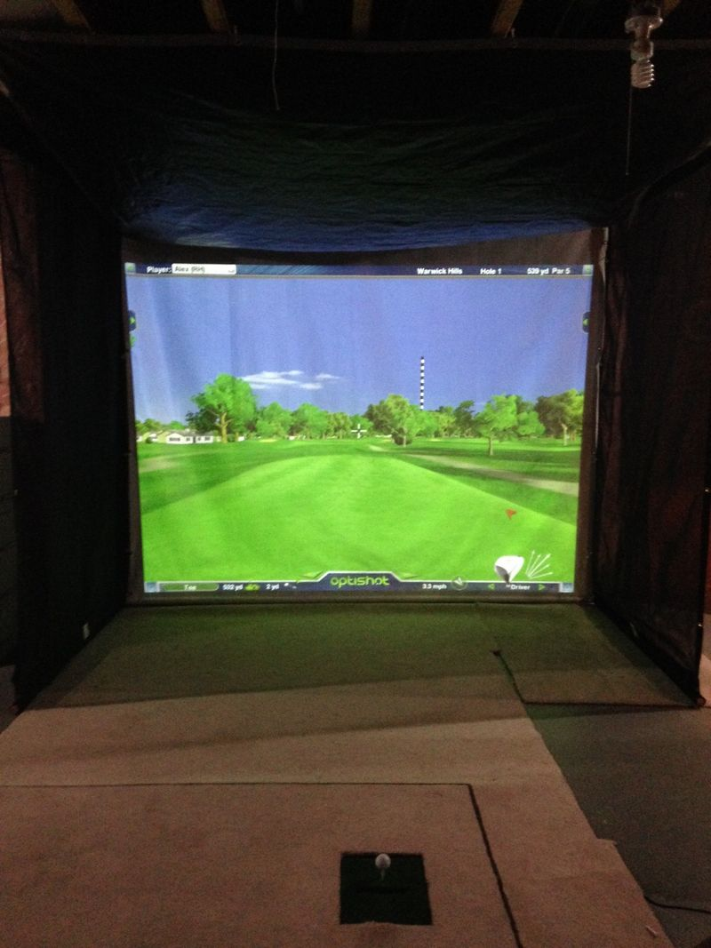 Optishot Golf Simulator Anybody Have One Pelican Parts