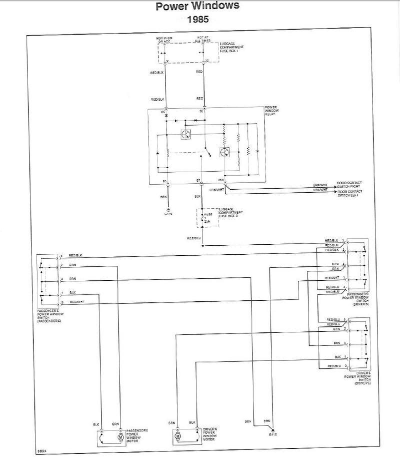need wiring diagram for passenger door pelican parts technical bbs