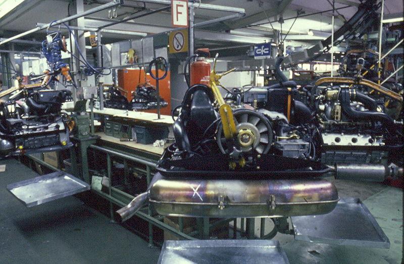 Trip to porsche zuffenhausen photos pelican parts for Factory motor parts portland