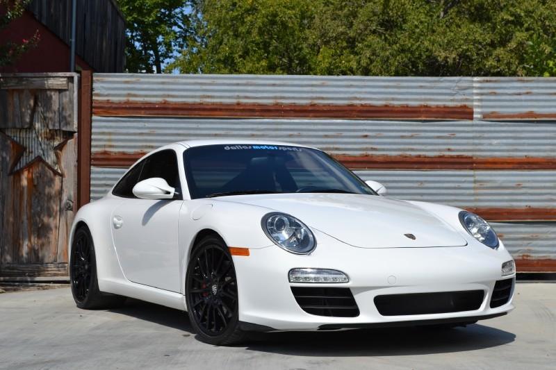 2009 Porsche 997 2 Carrera S White Black Pelican Parts
