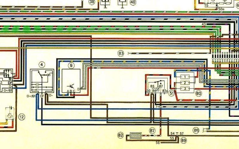73 5 voltage regulator wiring pelican parts forums rh forums pelicanparts com Volkswagen Wiring Diagrams 74 Year 1971 VW Super Beetle Wiring Diagram