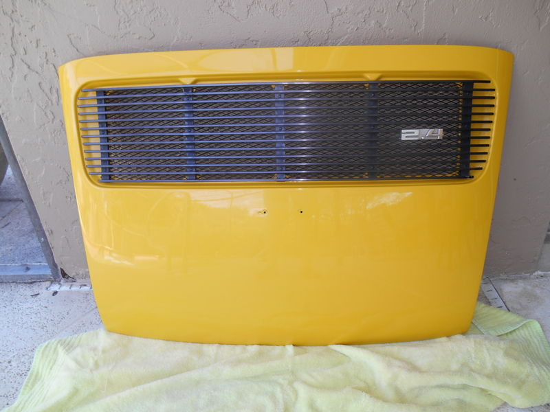 Porsche 1972 73 Grill And Rear Lid For Sale Pelican
