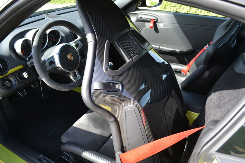 Porsche Cayman R Gt2 Gt3 Carbon Fibre Bucket Seats For
