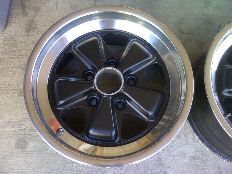 Fuchs 8jx16 Wheels Matching Pair Pelican Parts Forums