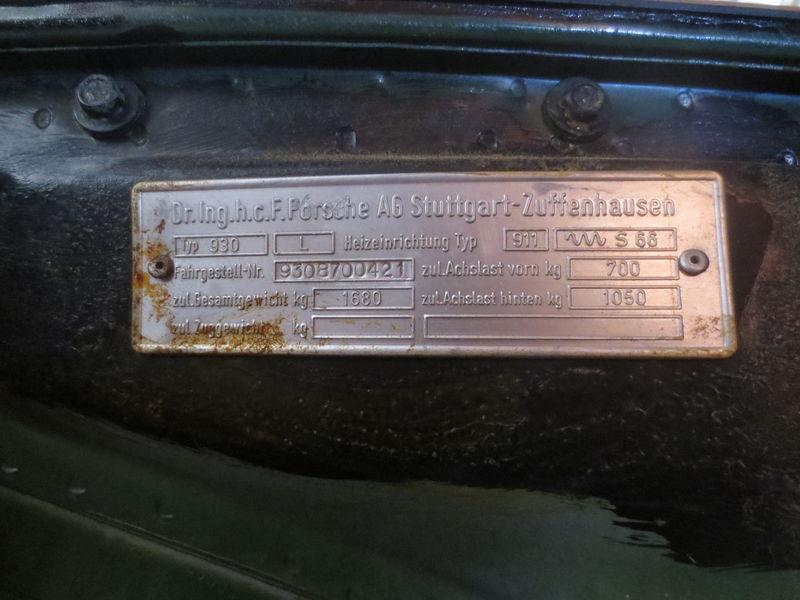 Aluminum Vin Plate Front Trunk Questions Pelican Parts