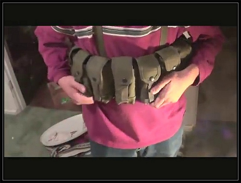 Looking For Chest Bandolier For SKS Stripper Clips - Pelican