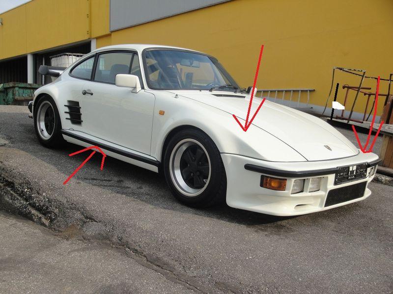 Porsche 930 Turbo Slantnose Body Kit Wanted Pelican