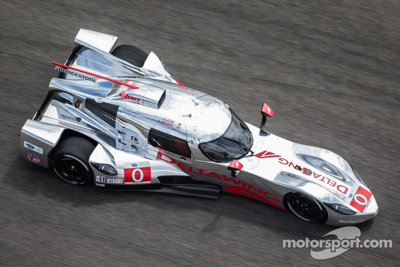 Whats this Delta Wing car running in Petite LeMans  Pelican