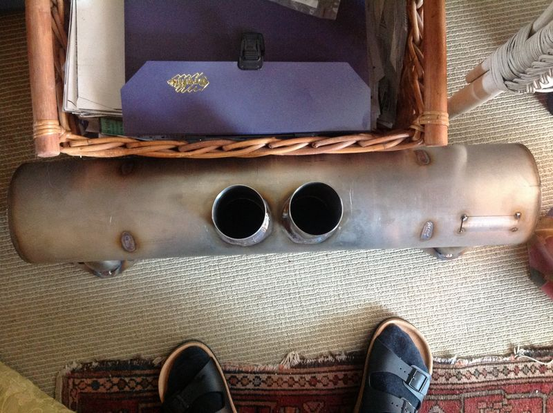 Had Custom Muffler Made Which Does Not Fit Pelican