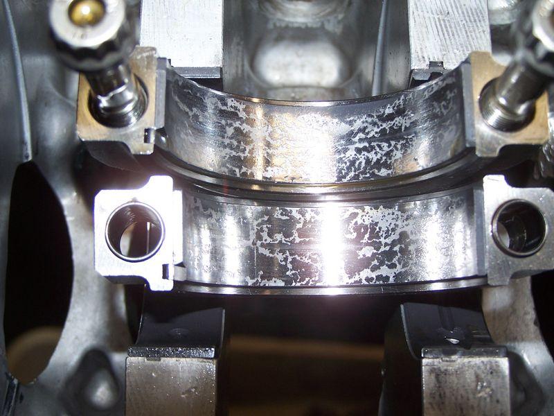Worn Engine Bearings : Glyco rod bearing wear pelican parts forums