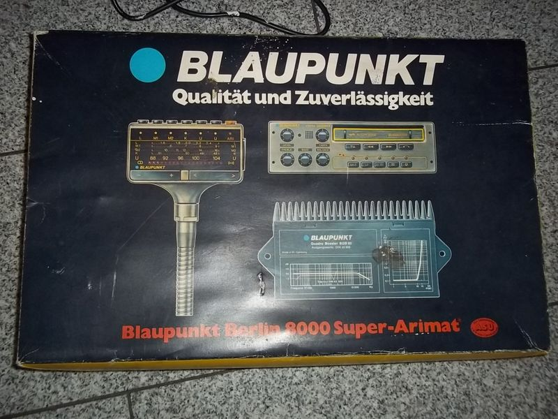 Fs Blaupunkt Berlin 8000 Super Arimat Pelican Parts Forums