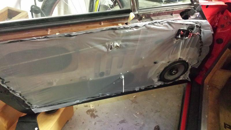 door vapor barrier install pelican parts technical bbs. Black Bedroom Furniture Sets. Home Design Ideas