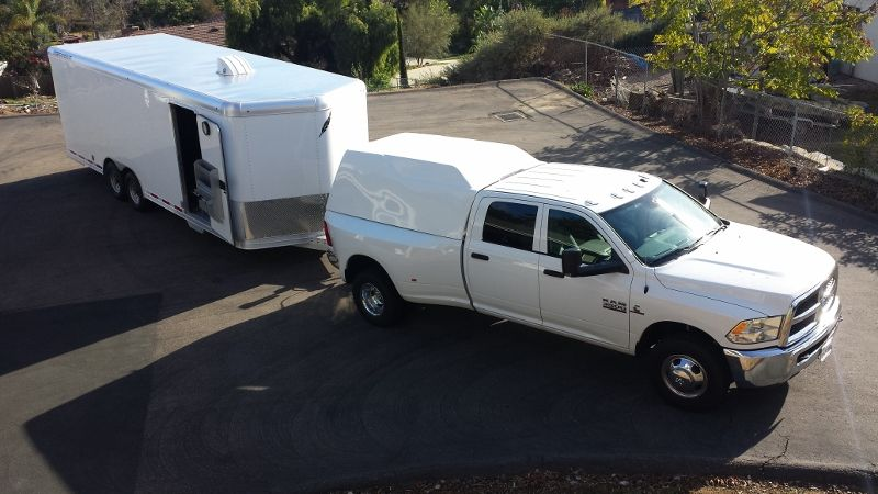 Truck bed Camper with hitch extension experience? - Pelican