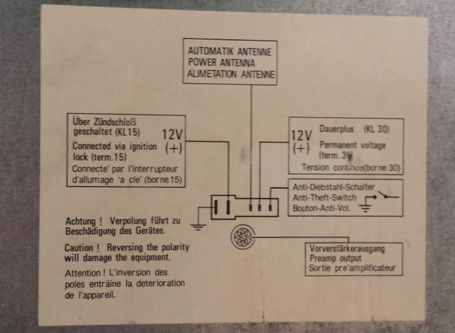 radio wiring diagram or chart 1989 3 2l targa pelican parts forums rh forums pelicanparts com