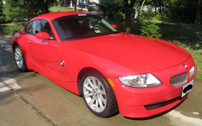 2007 Bmw Z4 3 0si Rare Red Coupe Fastback Hardtop