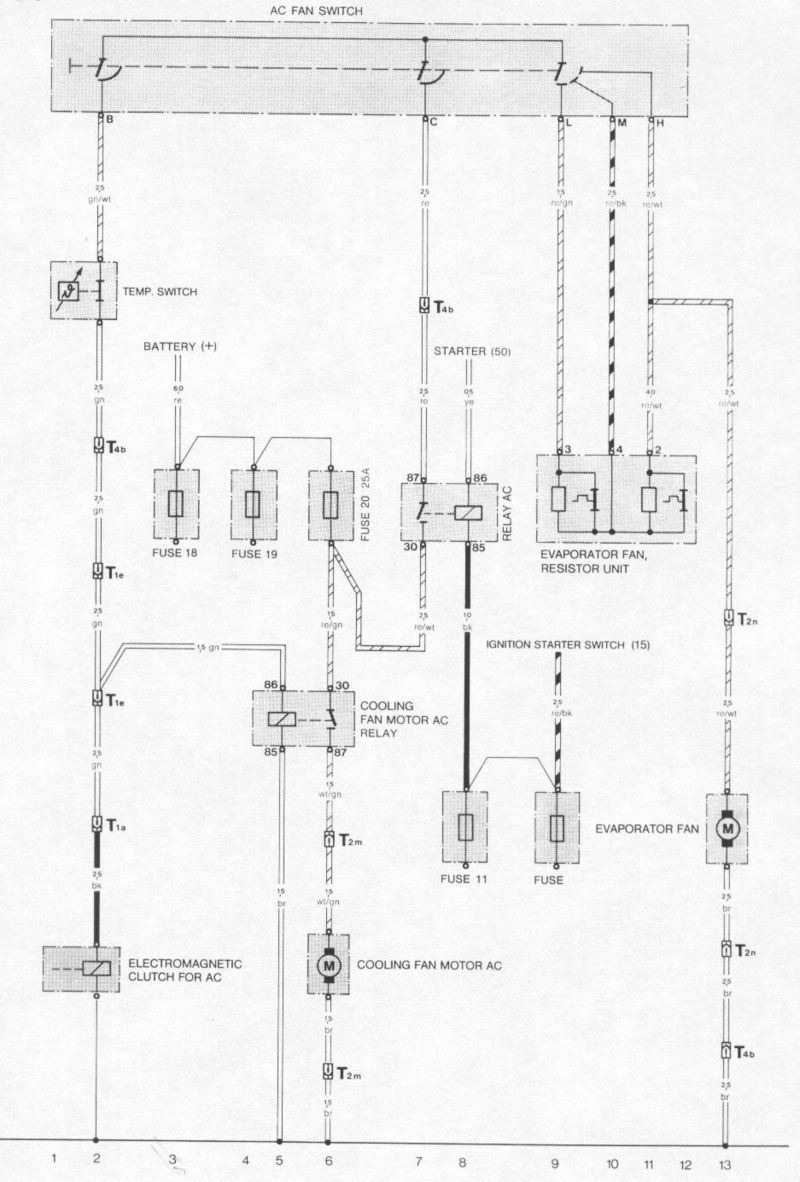 Fans Kick On When The A C Compressor Does Relay Wiring Diagram Below