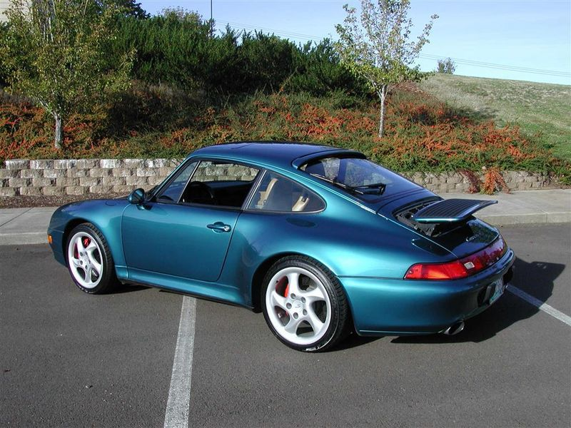 1997 Porsche 993 C4s Carrera 4s Manual Coupe Pelican