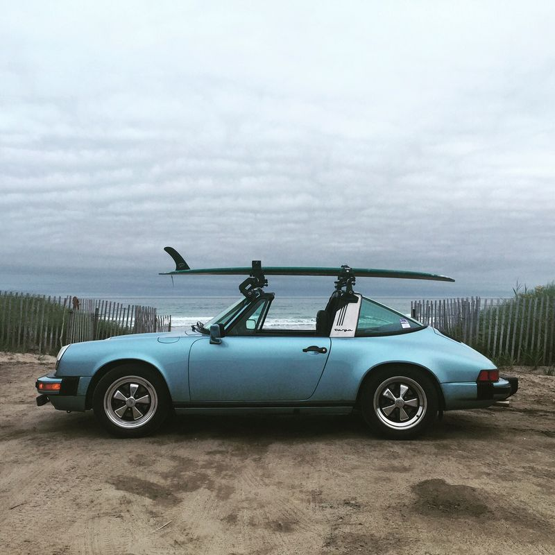 Full Restored 80 Targa With A Surf Rack Pelican