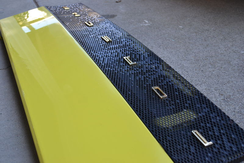 914 Engine Deck Lid, Grill, and Porsche Letters - Pelican