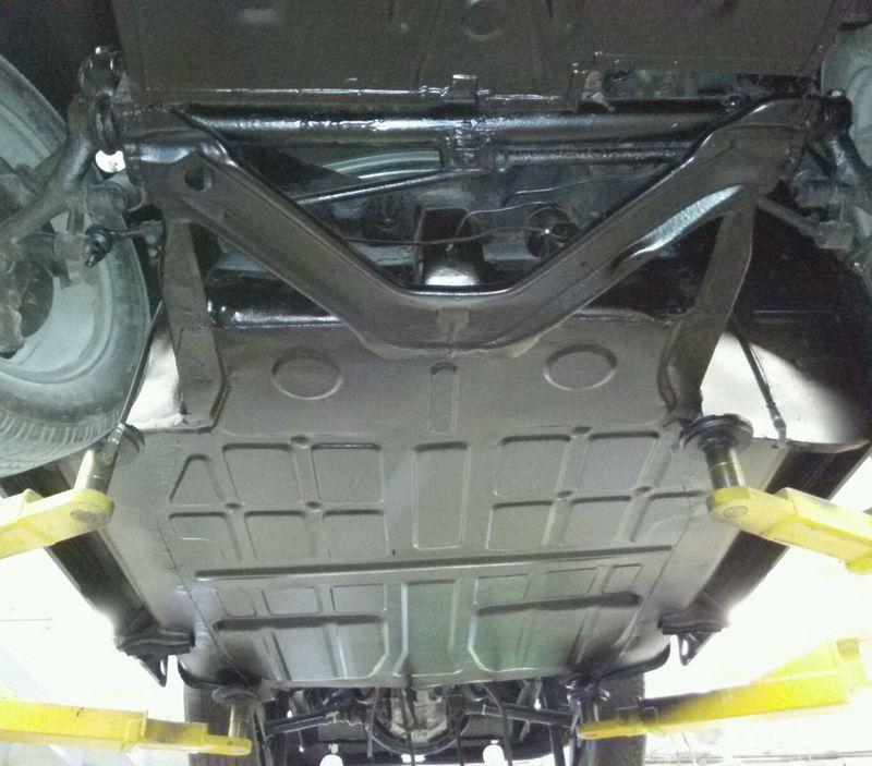 911 Floor Pan Or Suspension Pan Replacement $980