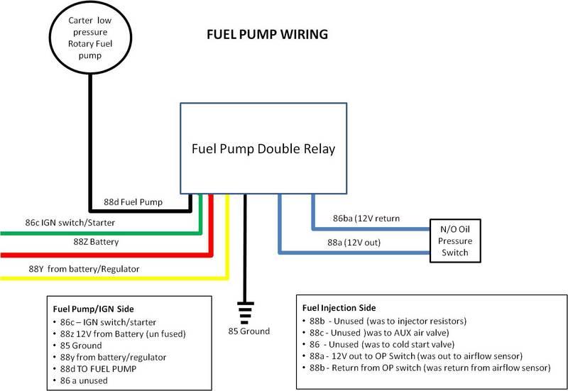 Fuel pump wiring Pelican Parts Forums