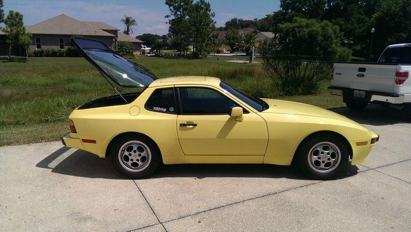 1987 944 Summer yellow $5950 - Pelican Parts Forums