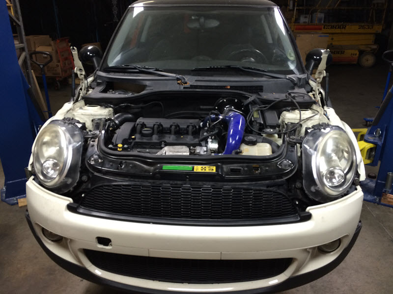 Decision-Time :: R56 with broken engine :: What would you do