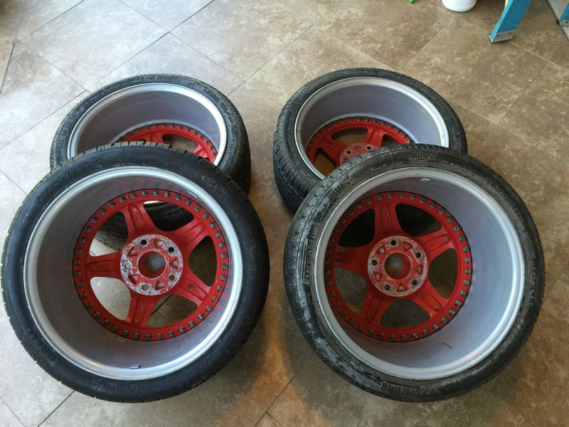 18 Speedline Wheels 8 And 11 Made In Italy Pelican