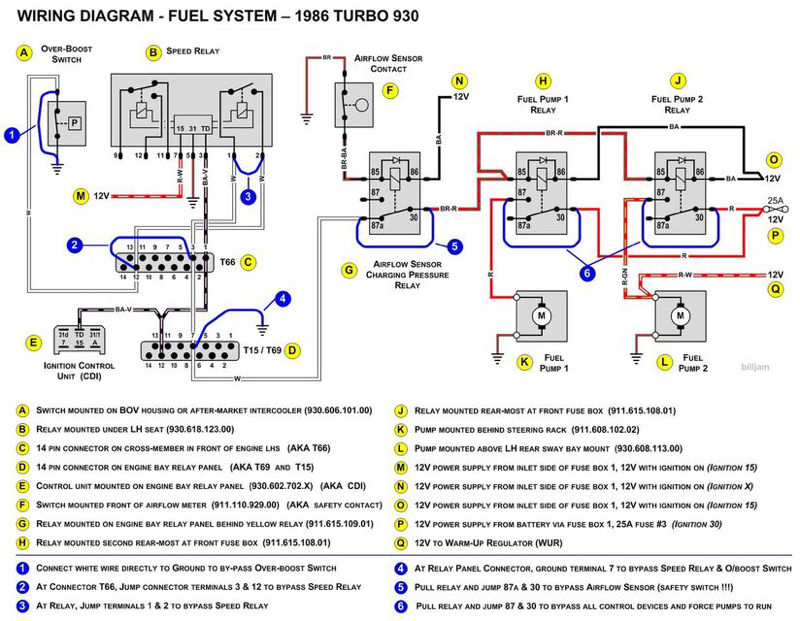 1979 930 Euro Fuel Pump Relay wiring issue Pelican Parts Forums