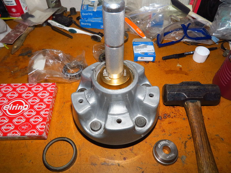 how to use harbor freight bearing packer