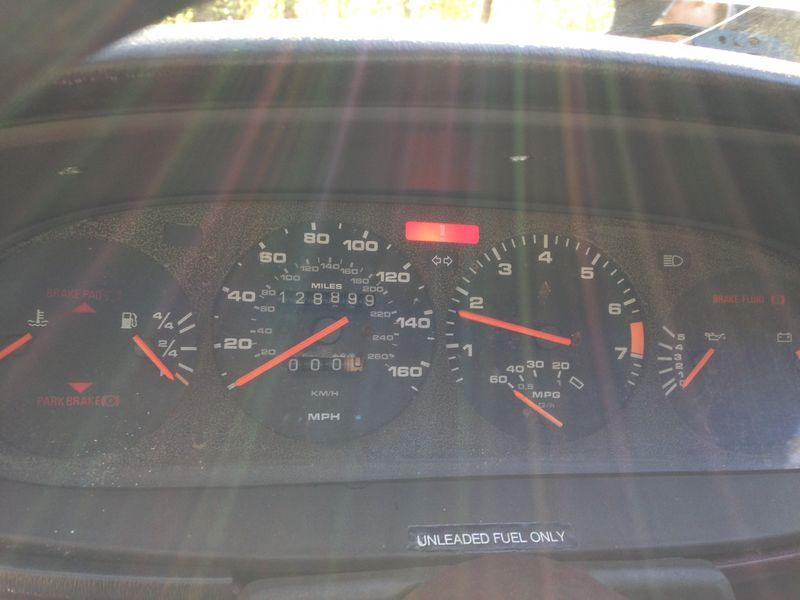 Porsche 944 Tachometer Not Working – Carro